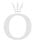 February birthstone silver stud earrings with synt